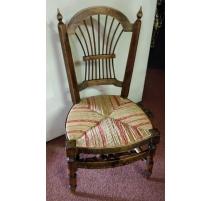 Chaise provençale de nourrice