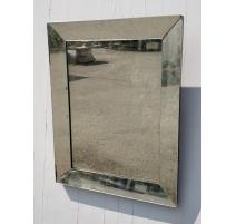 Miroir rectangulaire marqué MF Saint-Etienne