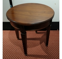 Table basse ronde style Directoire