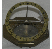 Sundial signed Johann Schrette