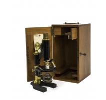 Microscope Nachet Paris dans sa boîte
