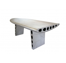 "Table ""Aile d'avion"" en alu"