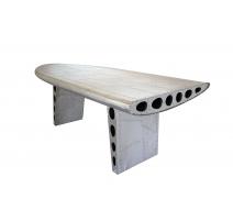 """Table """"Aile d'avion"""" en alu"""
