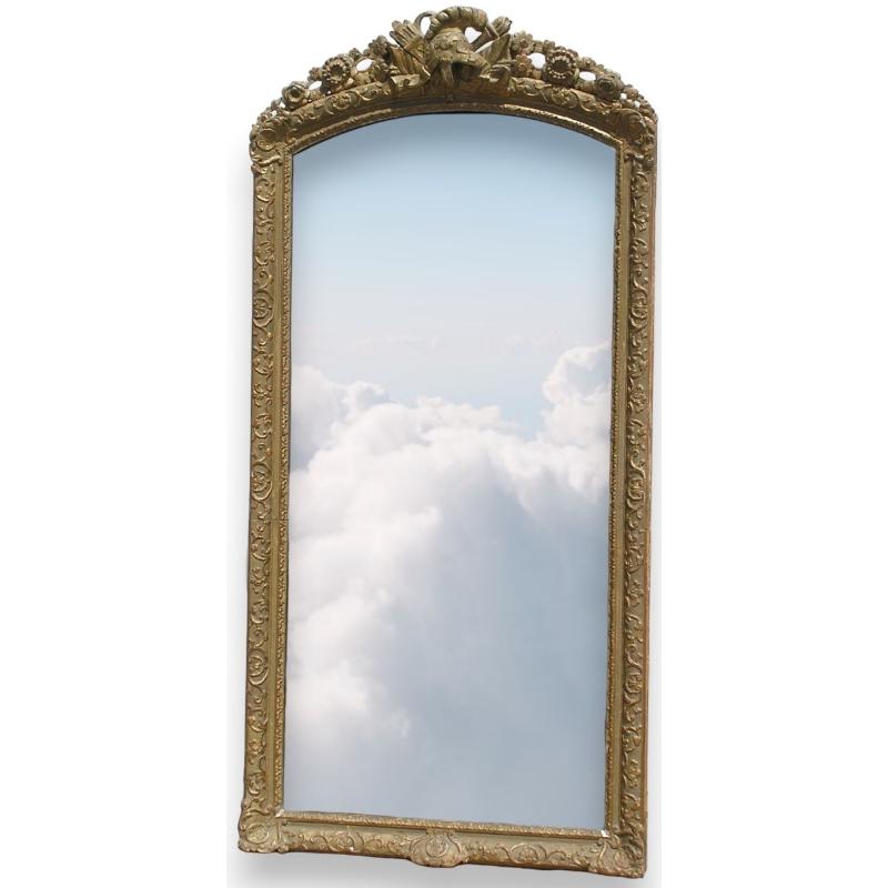 miroir de style louis xiv sur moinat sa antiquit s. Black Bedroom Furniture Sets. Home Design Ideas