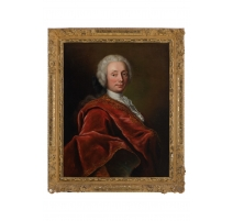"Tableau Portrait ""David Huguenin"" par J.P. HENCHOZ"