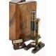 Microscope en laiton par Thury & Amey Genève
