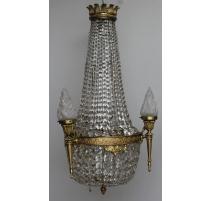 Lustre style Louis XVI dit Mongolfière