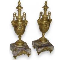 Paire de vases Napoléon III.