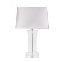 """Lampe colonne rectangulaire """"Cielo"""" en cristal"""