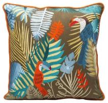 Coussin Exotic Parrots