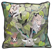 Coussin Exotic Animals