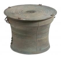 Tambour de pluie du Yunnan en bronze