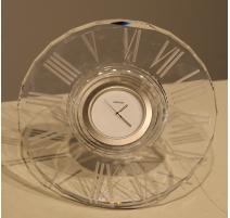 Pendule ronde HELIOS en cristal de SWAROVSKI