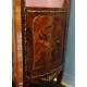 Vitrine style Louis XV en bois de rose