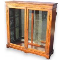 Edwardian display cabinet.
