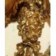 Paire d'appliques style Louis XVI à 3 lumières