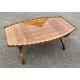 Table basse en forme de tonneau