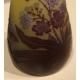 Vase à col étroit signé GALLÉ