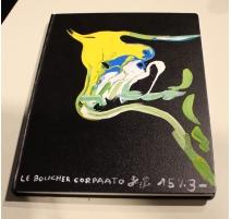 Livre à esquisses couverture signée CORPAATO