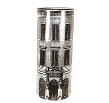 Porte-parapluies en porcelaine décor palais