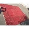 Tapis Boukhara fond rouge
