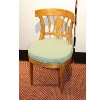Chaise de coiffeuse Biedermeier en érable