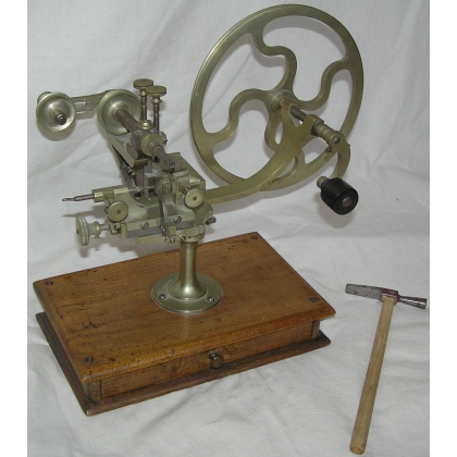 Watchmakers lathe.