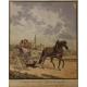 """Gravure """"Le paysan Bernois"""" par BIEDERMANN"""
