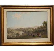 """Gravure """"Ville de Berne"""" par BIEDERMANN"""