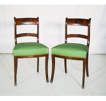 Set of 6 chairs Regency.