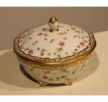 Sucrier en porcelaine de Nyon par SAUBERLIN
