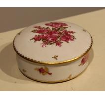 Boite ronde en porcelaine de Nyon par TERRIBILINI