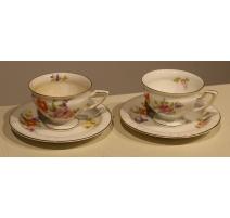 Paire de tasses et sous-tasses MARIA de Rosenthal