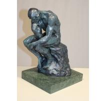 Le penseur de Rodin en bronze