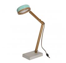 Lampe Hipp vert Tiffany