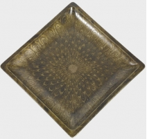 Square dish DUNAND Jean