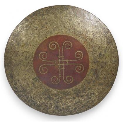 Round dish by LINOSSIER