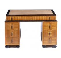 Bureau Art Déco à sept tiroirs