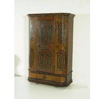 Armoire peinte avec 1 porte daté 1808