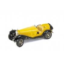 """Voiture miniature """"Alfa Romeo Tipo 8c"""" jaune"""