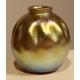 Vase en verre iridescent signé L.C. Tiffany