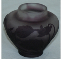 GALLE vase, purple.