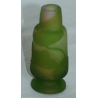 Vase Gallé, vert.