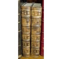 """Livres """"Fables de la Fontaine"""" 2 Tomes"""