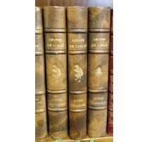 """Bücher """"Poêmes von Leconte de Lisle"""" 3 Bände"""