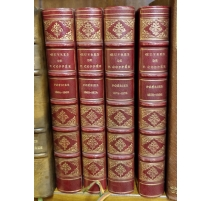 "Books ""Poems of F. Coppée"" 4 Volumes"