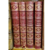 """Bücher: """"Gedichte von F. Coppée"""" 4 Bände"""