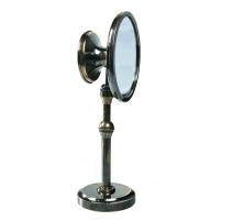Mirror with double side magnifying