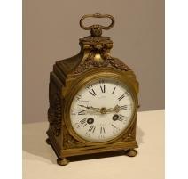 Pendulum capucine Louis XVI by LEROY Paris