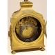 Pendule capucine Louis XVI par LEROY Paris